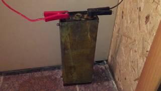 Эксперимент бастап сілтілі батареямен НК-125 ''бір бөлігі-2''