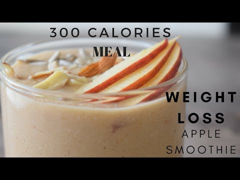 Weight Loss Apple Smoothie Recipe | 300 Calories Healthy Breakfast | Recipe For Weight Loss
