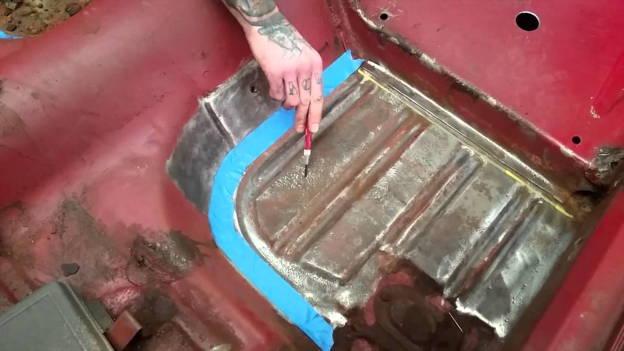 Floor pan replacement bill 39 s 1966 ford mustang gt conv for 1965 mustang floor pan