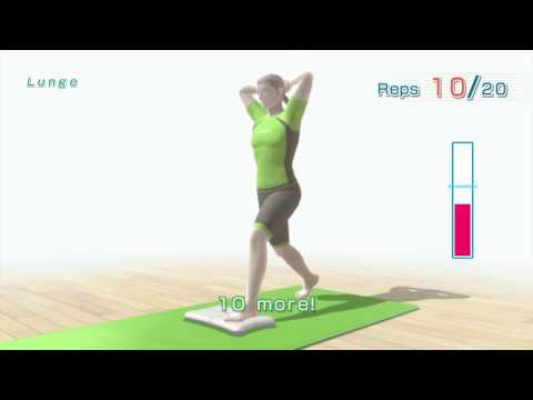 Strength Routine in Wii Fit U