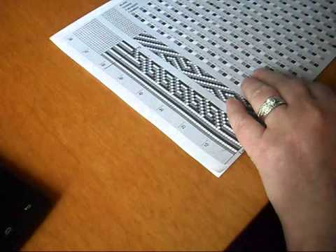 Схемы вязания жгутов из бисера.  Набираем бисер без ошибок
