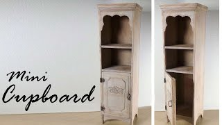 Miniature Furniture; Cupboard / Cabinet Tutorial - Dolls/dollhouse