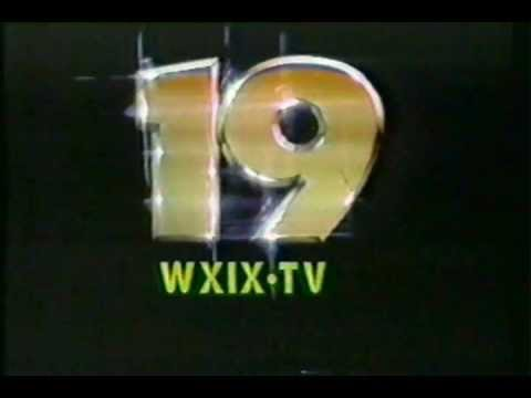 WXIX - Channel 19, Cincinnati, OH - ID & Sat. Movie Intro - from 1983!