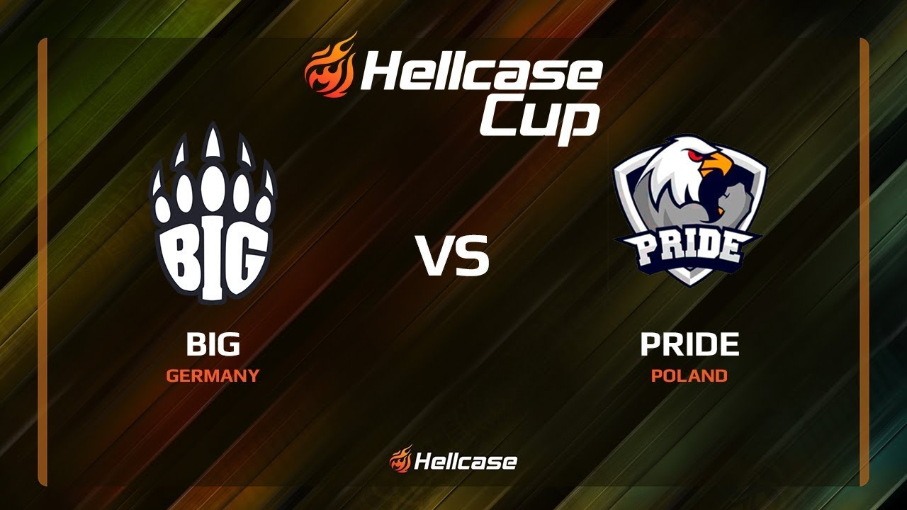 [EN] BIG vs PRIDE, map 1 train, Hellcase Cup 6