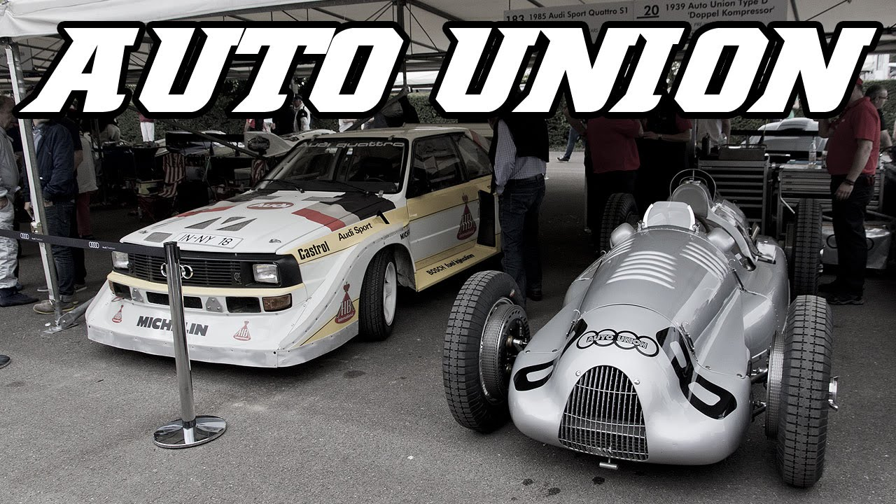 Auto Union Type D Start Up And Revving Goodwood