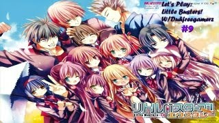 lets play visual novel little busters episode 9 weird delusions