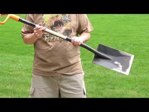 King of Spades - BEST Shovel Ever - Edging, Digging & Trenching