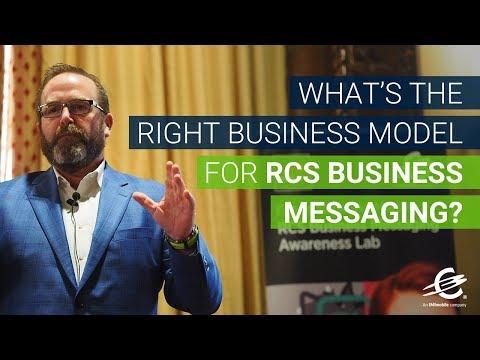 Best Business Model for RCS Business Messaging? — John Duffy, IMImobile