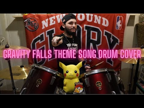Gravity Falls Theme Song - Brad Breeck - Drum Cover #101