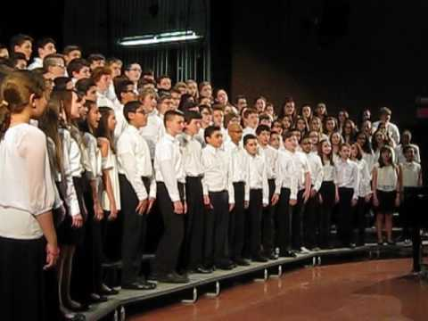 All County Music Festival 2017 Choir  Clip 1