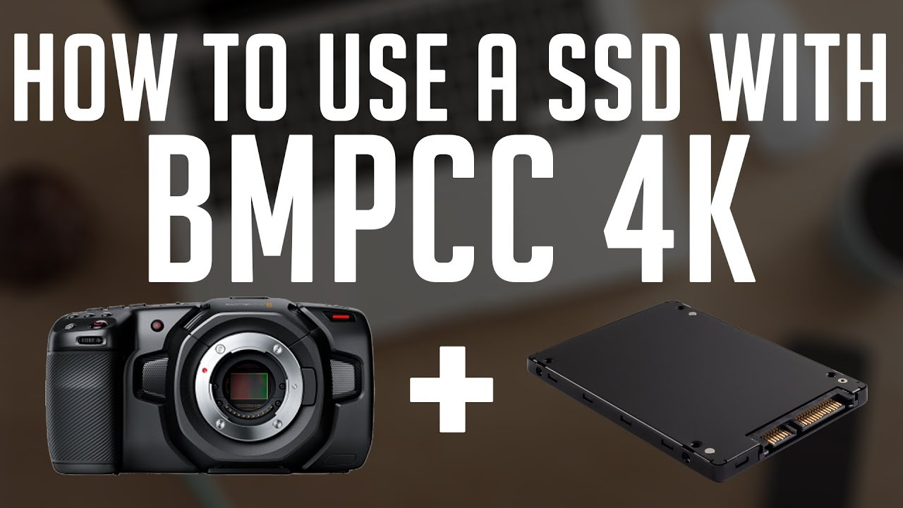 How To Record To A Hard Drive With Blackmagic Design Pocket Cinema Camera 4k Youtube