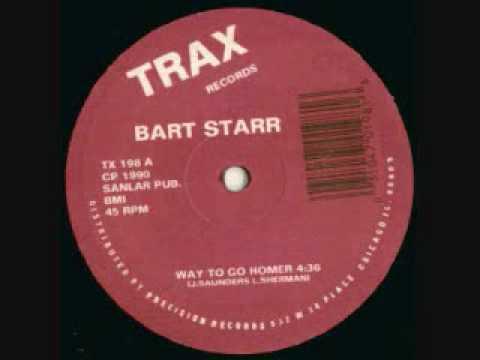 Bart Starr - Way To Go Homer 1990 Trax Records.wmv