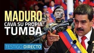 Maduro cava su propia tumba: el quiebre militar es su culpa - Testigo Directo HD