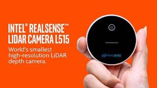 Intel RealSense LiDAR Camera L515 - the worlds' smallest high-resolution LiDAR depth camera