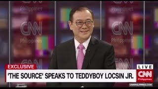 Exclusive: 'The Source' speaks to Foreign Affairs Secretary Teddy Boy Locsin Jr. Part 1