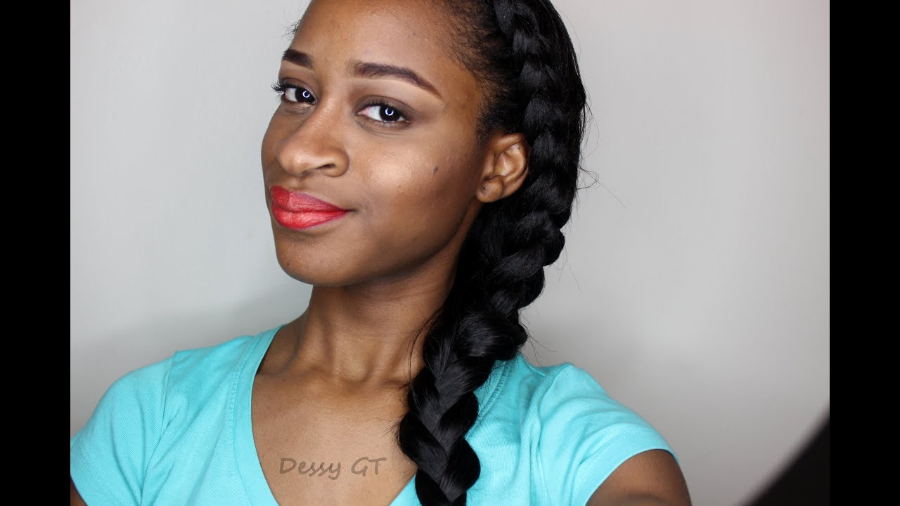 Two goddess braids hairstyles fade haircut goddess braids ft cc hair clip ins relaxed hairstyle youtube urmus Images