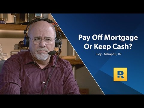 Pay Off Mortgage Or Keep Cash?