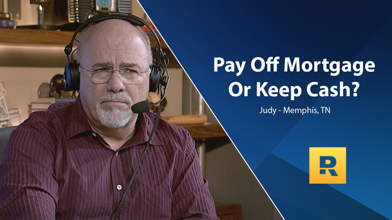 Pay Off Mortgage Or Keep Cash? - YouTube