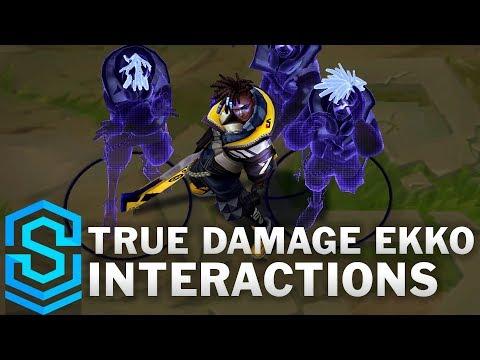 True Damage Ekko Special Interactions