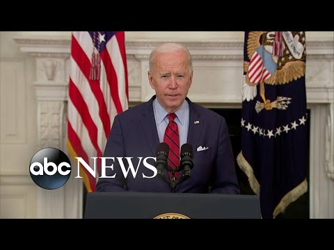Joe Biden delivers remarks on mass shooting in Boulder, Colo