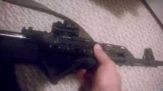 Modifications to M70ab2 yugo AK47