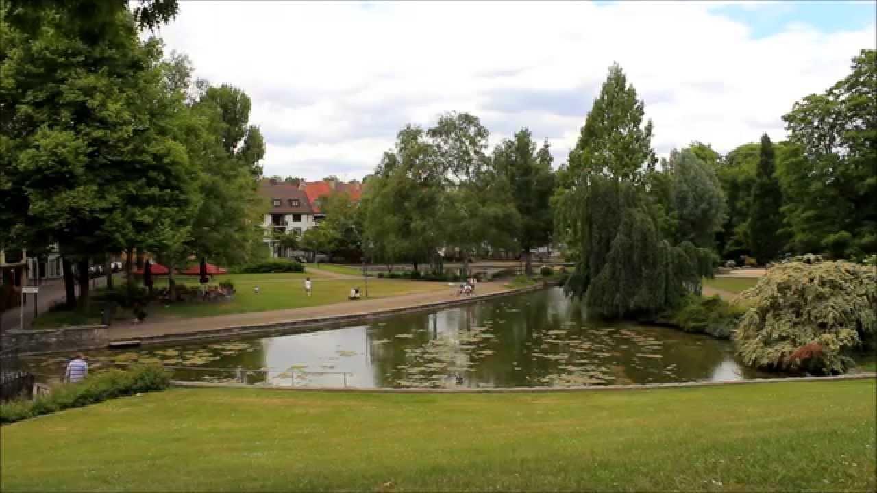 10 min relaxing urban park paderborn iii youtube. Black Bedroom Furniture Sets. Home Design Ideas