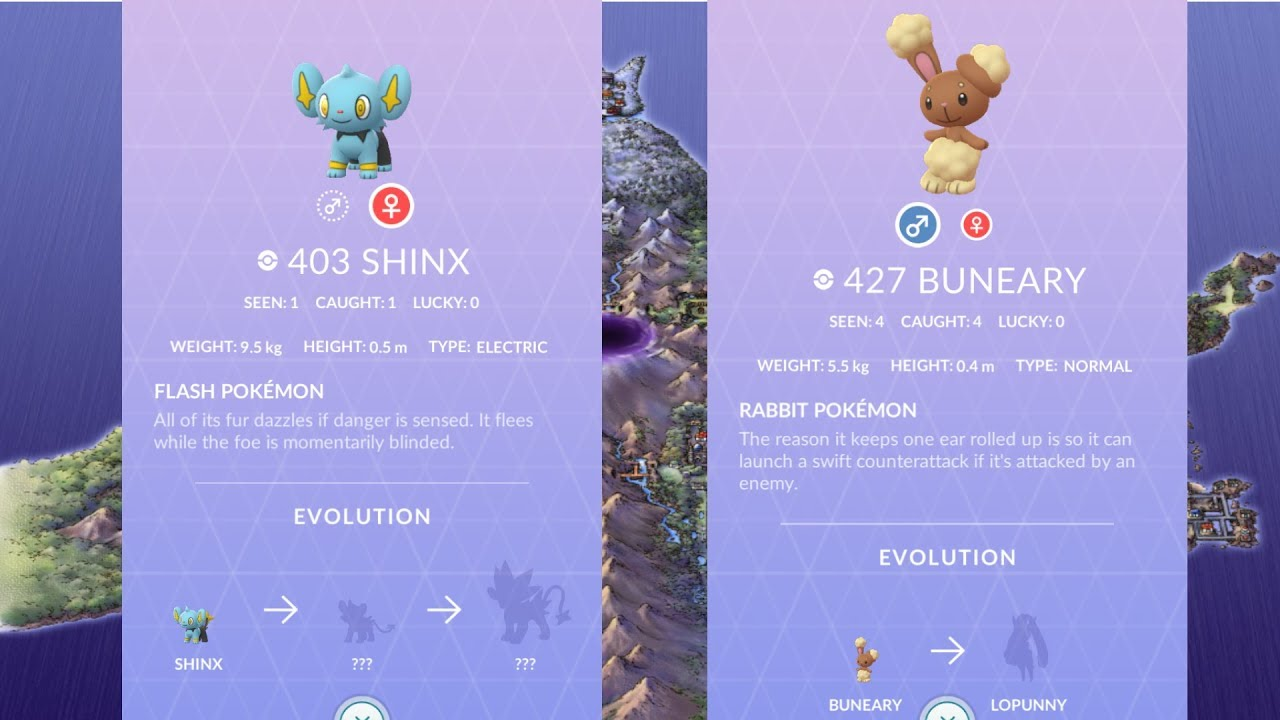 Sinnoh Raids Part 1 Shinx And Buneary Pokemon Go Youtube