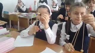 г.Грозный, Гимназия 1, урок труда в 4з классе. 22 января 19г.