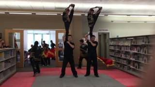 Kungfu Dragon USA San Ramon Library Kungfu Demo2