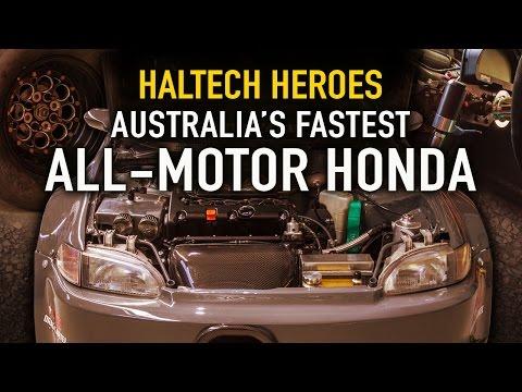 Australia's Fastest All-Motor Honda: JDMYard's Civic -  Haltech Heroes