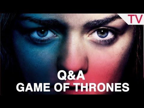'Game of Thrones' stars Maisie Williams and Joe Dempsie Blinkbox and Digital Spy panel Q&A: Part 1