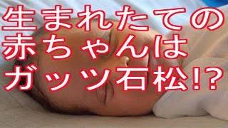 日本人の生まれたての 赤ちゃんの顔は、 必ず顔はガッツ石松タイプか 鶴...
