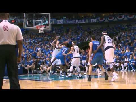 James Harden 29 points (15 in the fourth quarter) vs Dallas Mavericks game 4 NBA Playoffs 2012.05.05