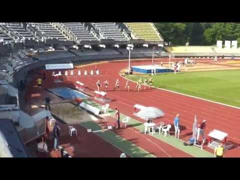 2015 m. LLAF taurės varžybų 100 m moterų finalas