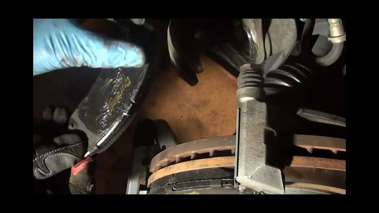 Replacing The Front BrakePads On An Acura TL YouTube - Acura tl brake pads