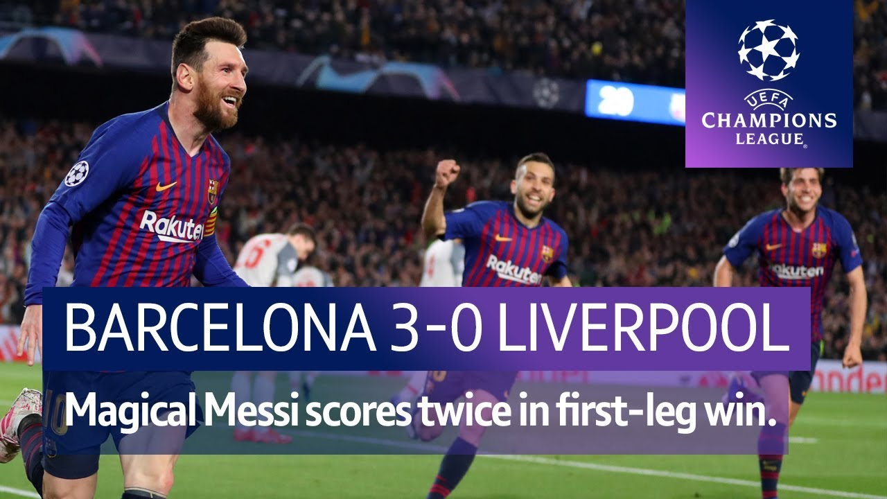 Barcelona vs Liverpool (3-0) | UEFA Champions League Highlights