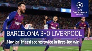 Barcelona vs Liverpool (3-0) | UEFA Champions League Highlights