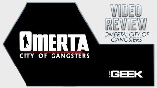 Omerta - City of Gangsters Video Review