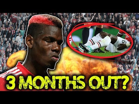 BREAKING: Paul Pogba INJURED For 12 Weeks With Hamstring Tear?! | W&L