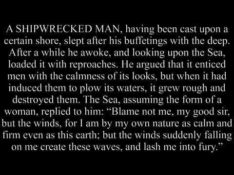 The Shipwrecked Man And The Sea