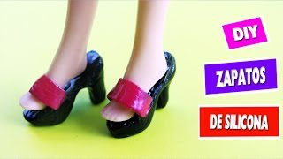 👠👢👞CÓMO HACER  ZAPATOS PARA MUÑECAS  BARBIE-  Con silicona caliente - manualidades para muñecas