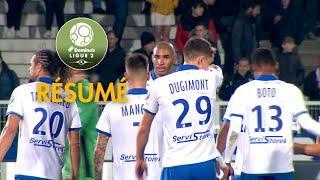 AJ Auxerre - Grenoble Foot 38 ( 4-0 ) - Résumé - (AJA - GF38) / 2018-19