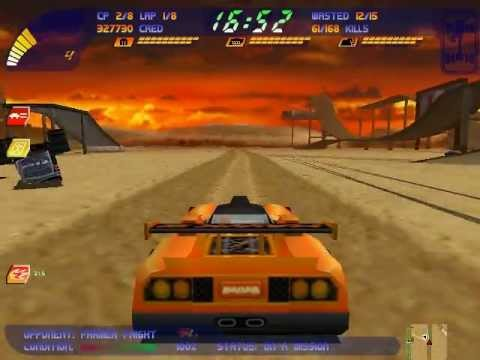 Carmageddon 2 gameplay - Roll up, roll over... (21/30)