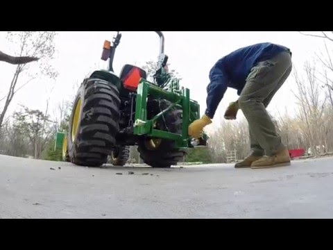 John Deere Tractor - iMatch Quick Hitch Category 1 (3038e)