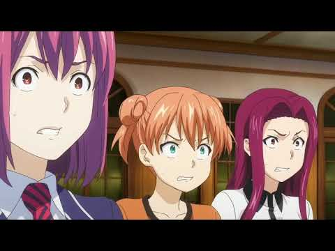 Shokugeki No Soma Season 3 - Erina  And Azami Finds Out Yukihira's Father
