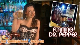 How To Make A Flaming Dr. Pepper Shot (with Bacardi 151)