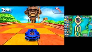 Sonic & All-Stars Racing Transformed (3DS) [GP: Rogue Cup] (No Commentary)