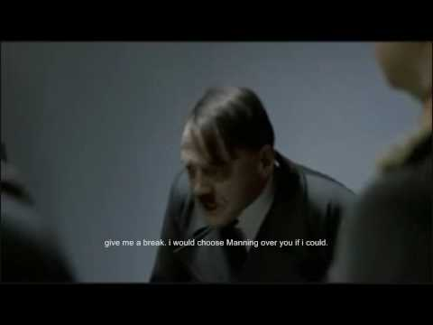 Hitler reacts to  Patriots vs Colts