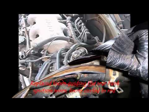 Replacing spark plugs and ignition wires on a 2001 Chevy Malibu 3 1