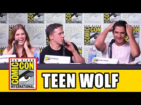 TEEN WOLF Season 6 Comic Con Panel - Tyler Posey, Holland Roden